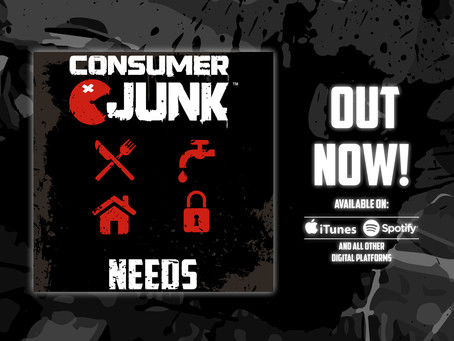 Consumer Junk drop second single 'Needs' off their recent album 'The Gift Of Aggression'!