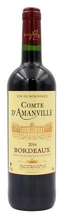 Comte d'Amanville Bordeaux Rouge AOC 2016