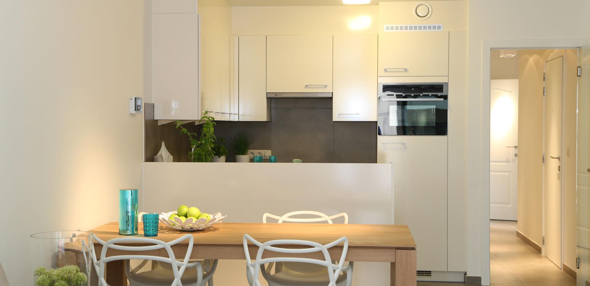 keuken en eethoek