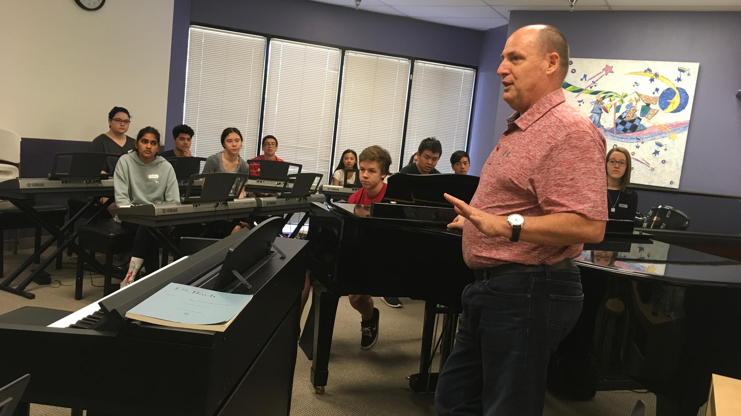 Phillip Keveren Teaching Improvisation Camp