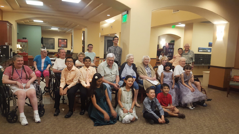 Yamaha Live Music Sessions at Solterra Retirement Community