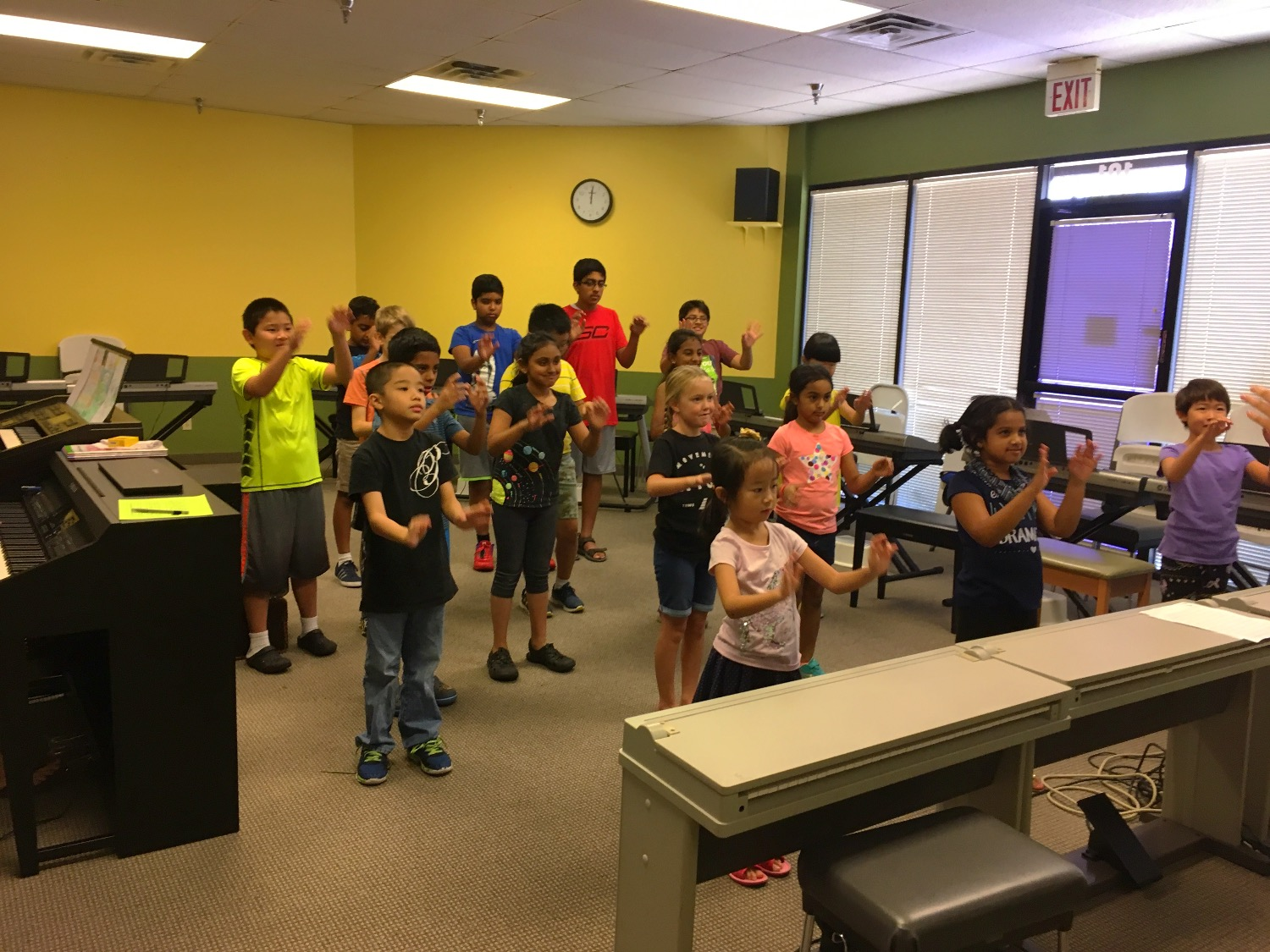 2017 Summer Camp Learning Conducting