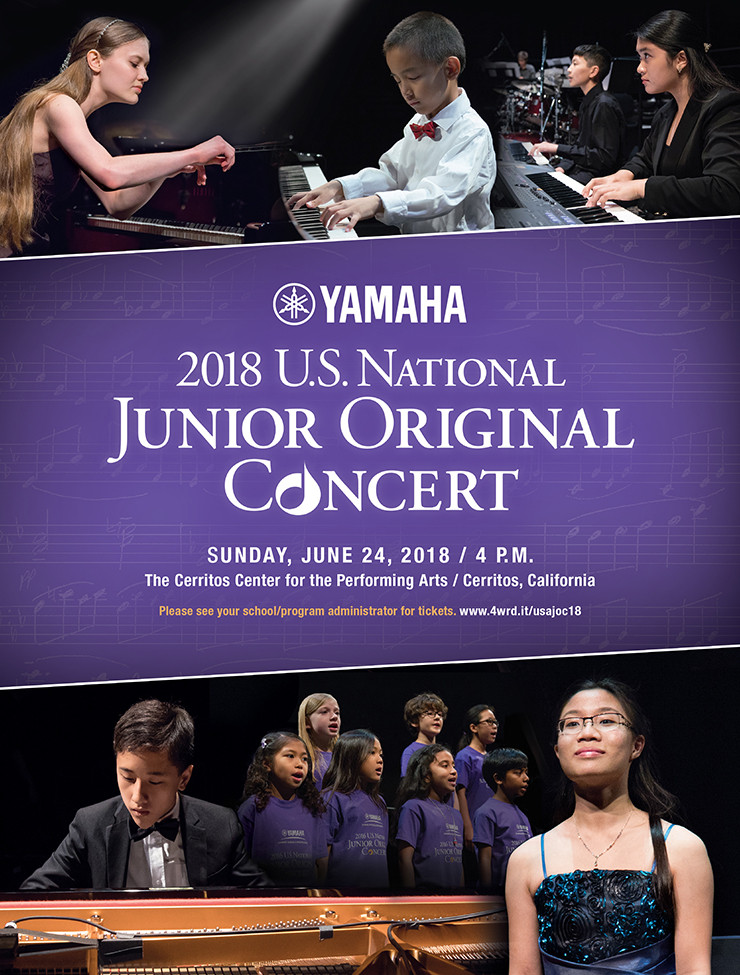 Two EVYMS Students Invited to National Junior Original Concert
