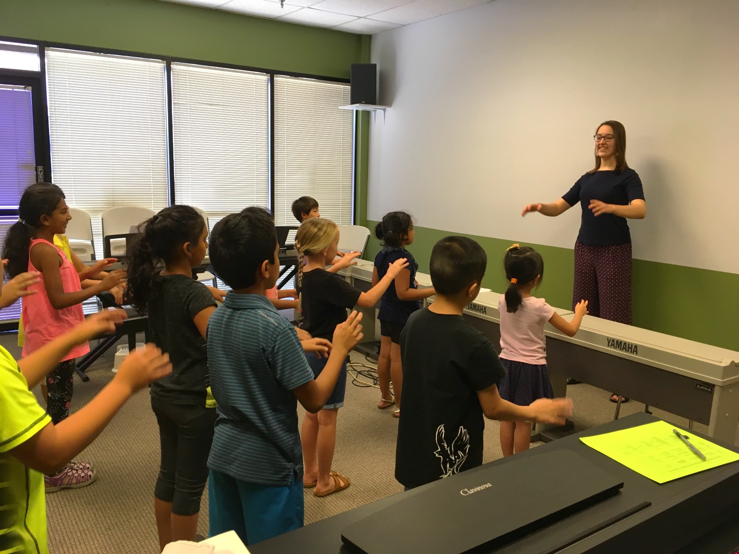 2017 Summer Camps Learning Conducting