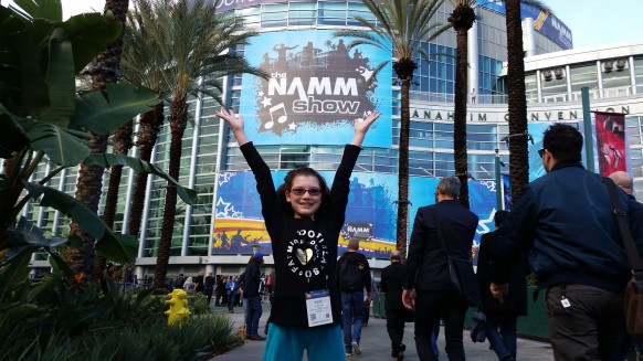 Kylie Shea Smith Chosen to Perform at NAMM 2017