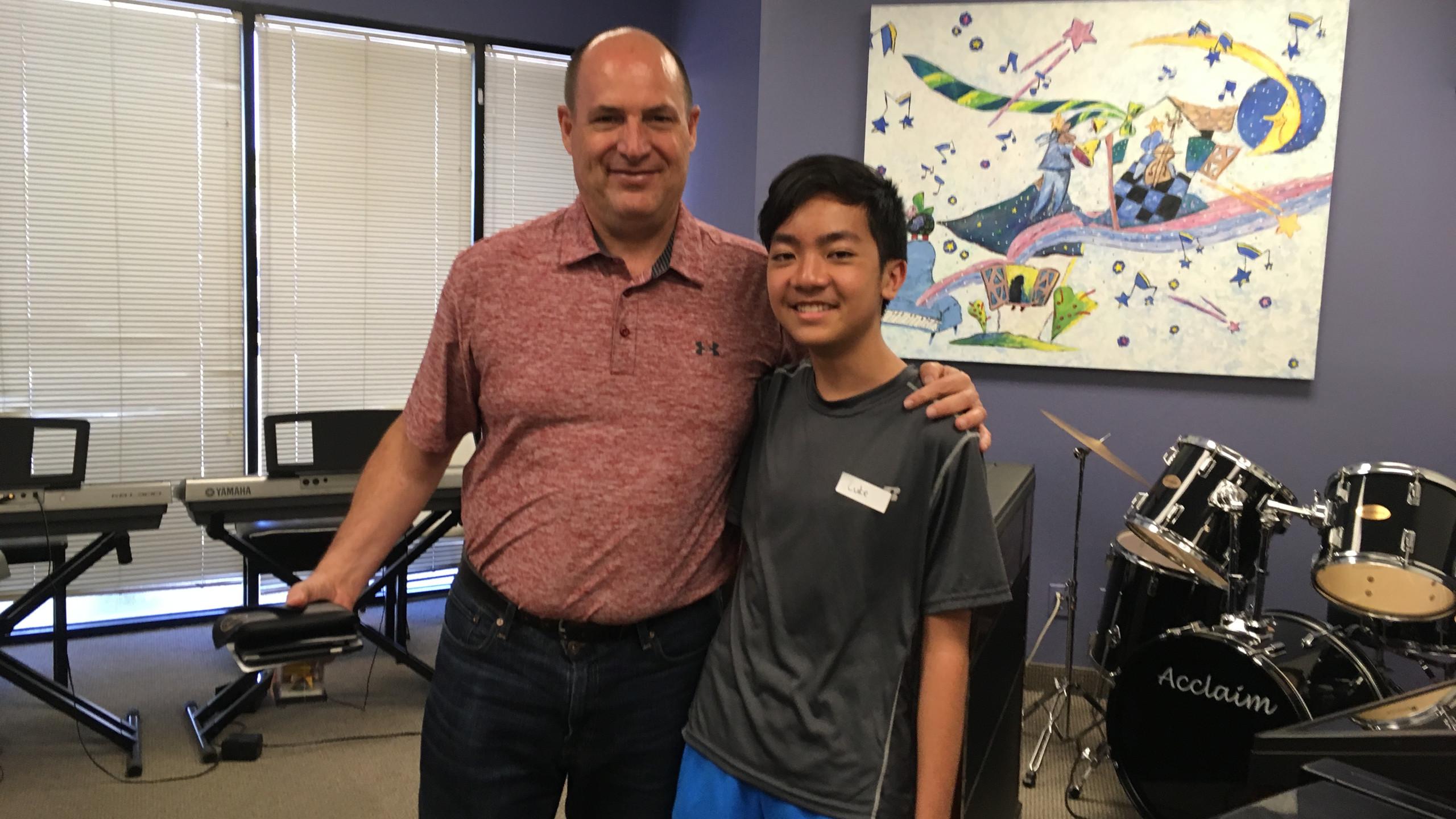 Phillip Keveren Improvisation Camp with Luke Huang