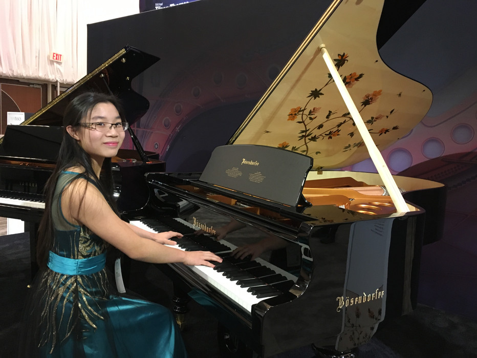 EVYMS Student Wins First Place in MTNA Competition, Performs at NAMM Show 2018