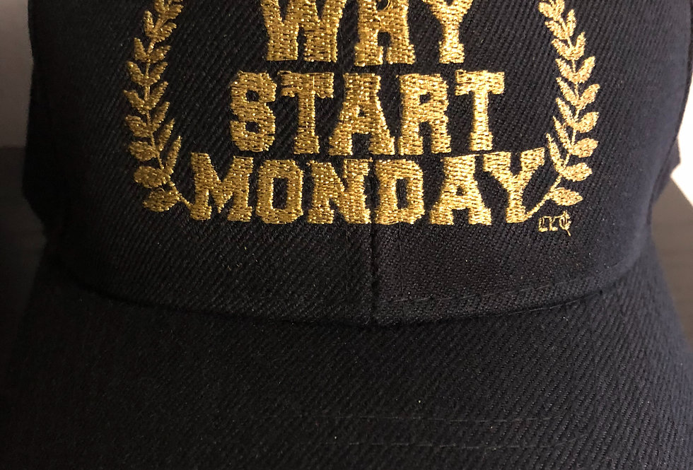 Unisex Why Start Monday Hat