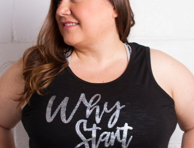 Don't Just Shine...Sparkle Plus Size Tank