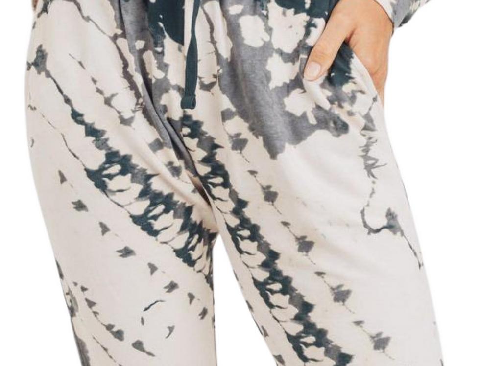 Digital Tie-Dye Sweatpants