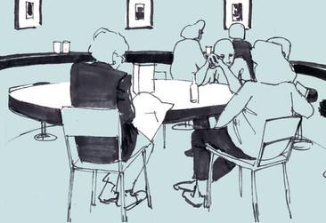 Tate Britain cafe