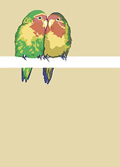 love birds illustration sally pring illustrator london