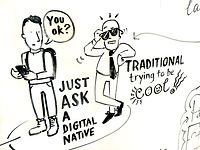 sally pring graphic recording live scribing live illustration event drawing illustrator london