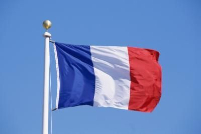 Waving-France-Flag-On-Bastille-Day
