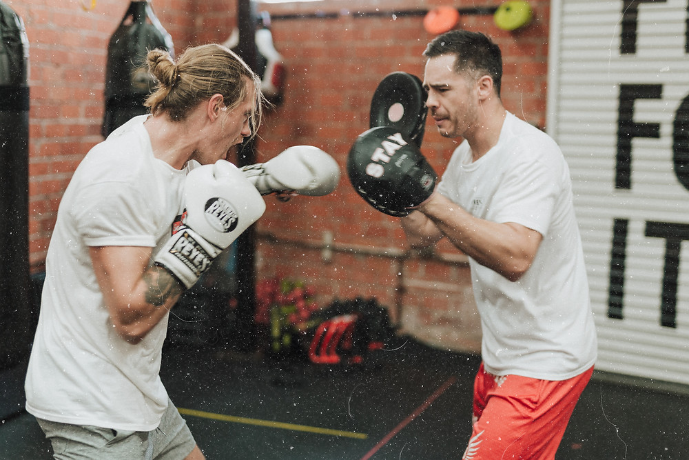 Boxing is a very effective way to relieve stress