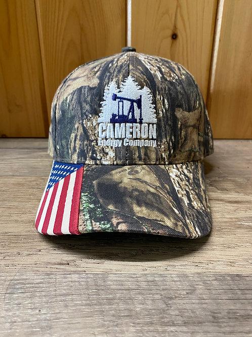 Patriotic Camo Hat