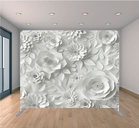 PAPER FLORAL BACKDROP