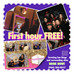 GET THE FIRST HOUR FREE WHEN YOU BOOK THE MIRROR ME PHOTO BOOTH