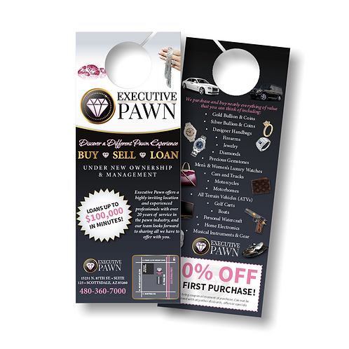 Door Hangers | Double Sided