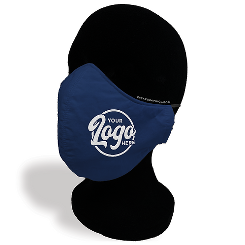 Custom Embroidery Cloth Face Mask (Min.6pcs)