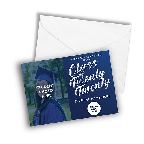 Graduation Cards w/Message (Min.5pcs.)