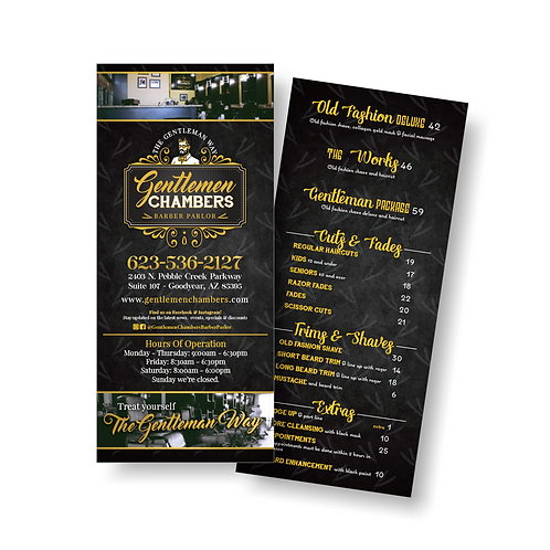 Rack Cards | Double Sided