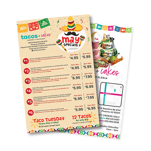 Half Page Flyers