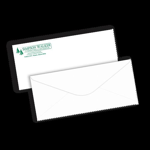 #10 Envelopes   1 Color