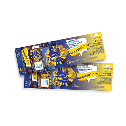 Event Tickets | Double Sided