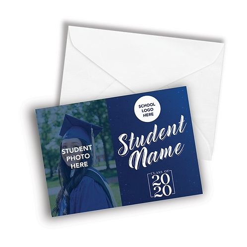 Graduation Cards w/No Message (Min.5pcs.)