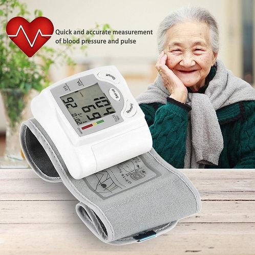 Wrist Blood Pressure Digital Monitor