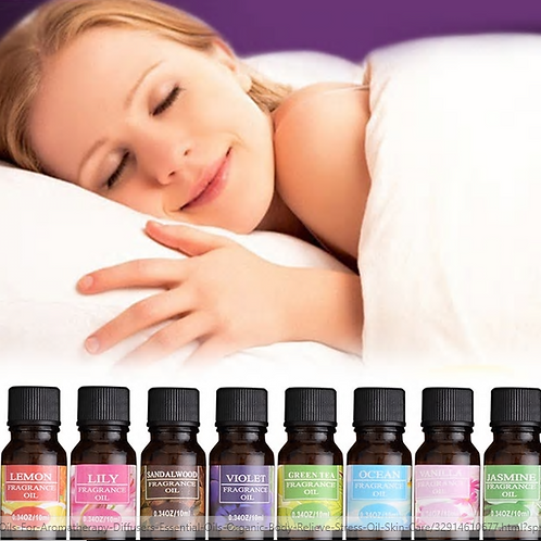 10ml Pure Essential Oils For Aromatherapy Diffusers Essential Oils Organic Body