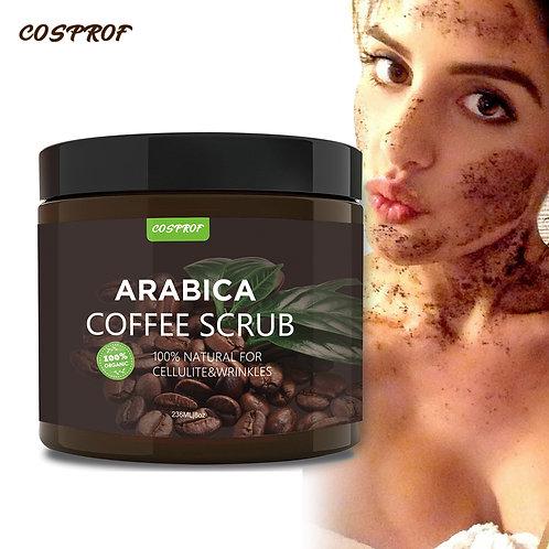 Coffee Dead Sea Salt Body Scrub