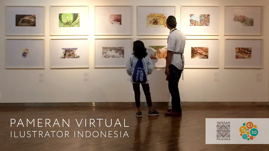 Pameran Virtual Illustrator Indonesia