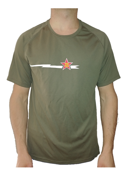 T-shirt kaki Homme