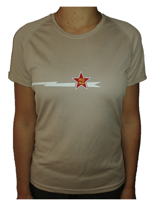T-shirt sable Femme