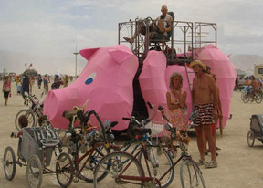 Pig Art Car
