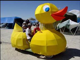 Duck Art Car