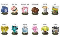 Flash game prize illustrations