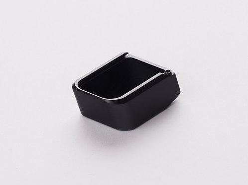CZ 75 Base Pad - 'PLUS 2 - Cube Style' - BLACK