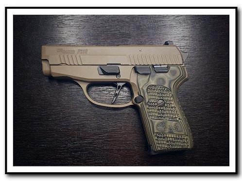 "SIG P239 P225A1 P245 & older P220  P226 ""Flat"" Adjustable Trigger"