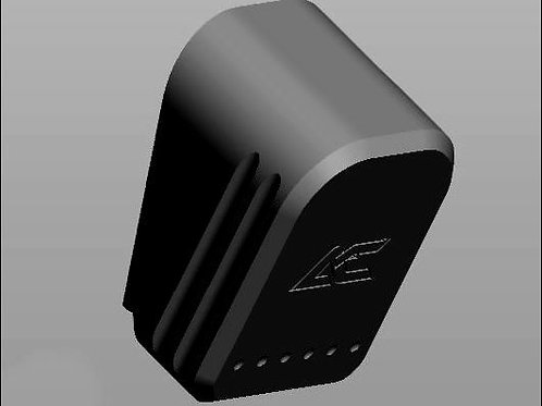 BLACK - Armory Craft - Plus-2 (Plus-3) Magazine Pad