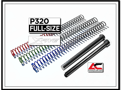 P320 Full Size / P320 X5 & X5 Legion Solid Guide Rod & Recoil Spring Tuning Kit