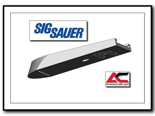 SIG P226 - Plus Zero - 15/17rd - Billet Aluminum SIG 226 Base Pad  - SILVER