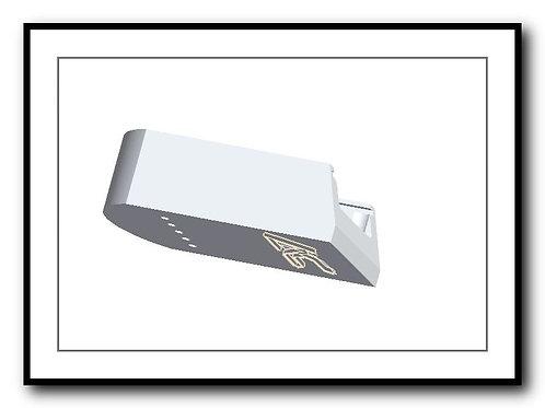 SIG P226 - Plus 2 - 15/17rd - Billet Aluminum SIG 226 Base Pad - SILVER