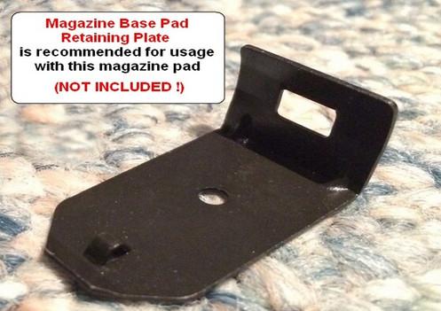 CZ 75 Base Pad - 'PLUS 2' - Shadow 2 - SILVER