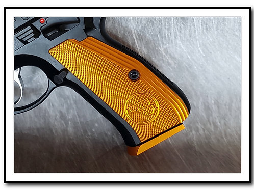 Armory Craft - Plus Zero - 16/14rd - CZ 75 Aluminum Base Pad - ORANGE