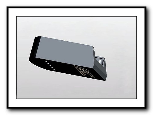 SIG P226 - Plus 2 - 15/17rd - Billet Aluminum SIG 226 Base Pad - BLACK