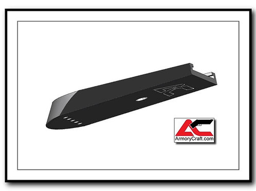 Armory Craft - Plus Zero - 16/14rd - CZ 75 Aluminum Base Pad - BLACK