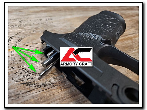 """ARMORY CRAFT"" Tungsten Weight Kit - Wilson Combat P320 Grip Modules"